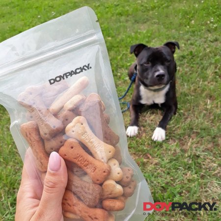 Doypack ZIP | čirý | PET/PE - Obsah: 3000ml (250 × 340 + 130mm)